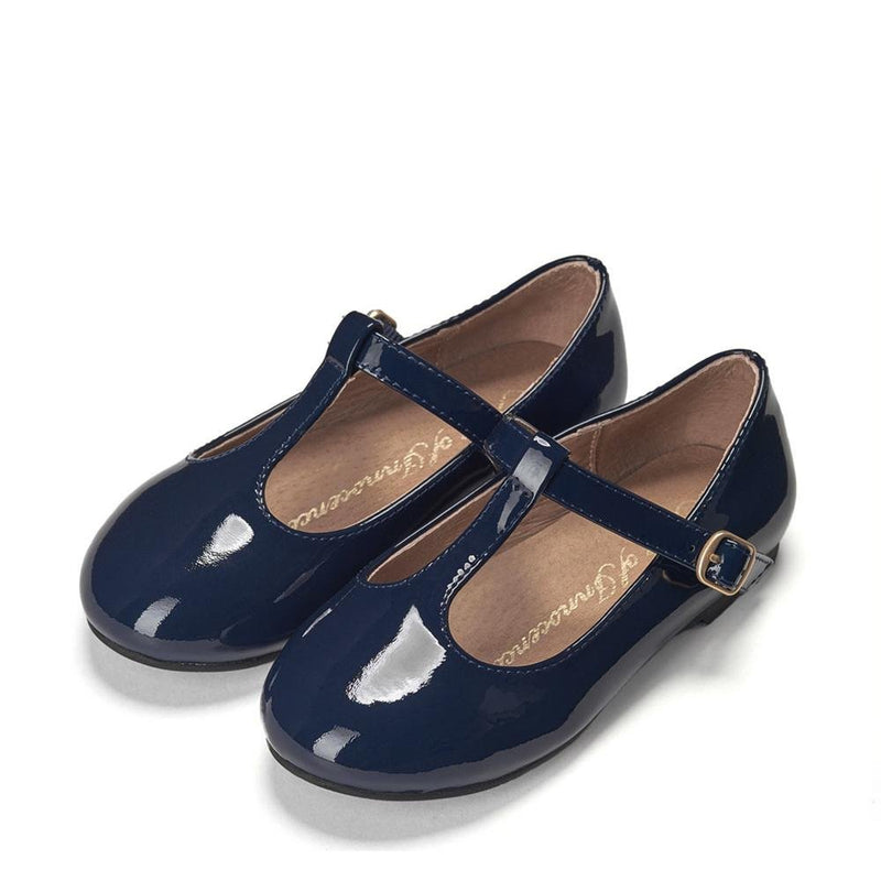Abigail PL Navy Shoes by Age of Innocence