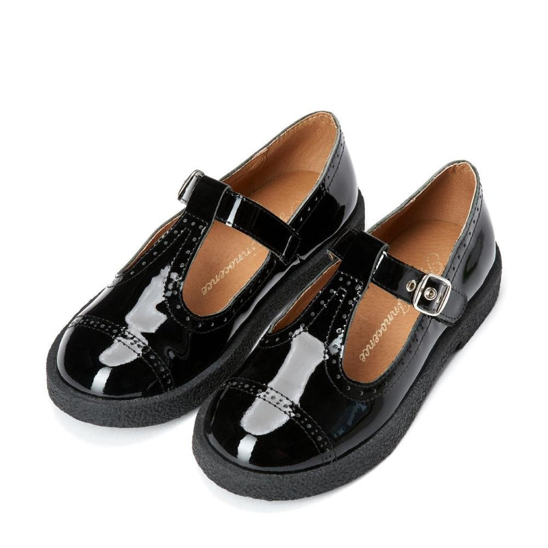 Agathe Black Shoes by Age of Innocence
