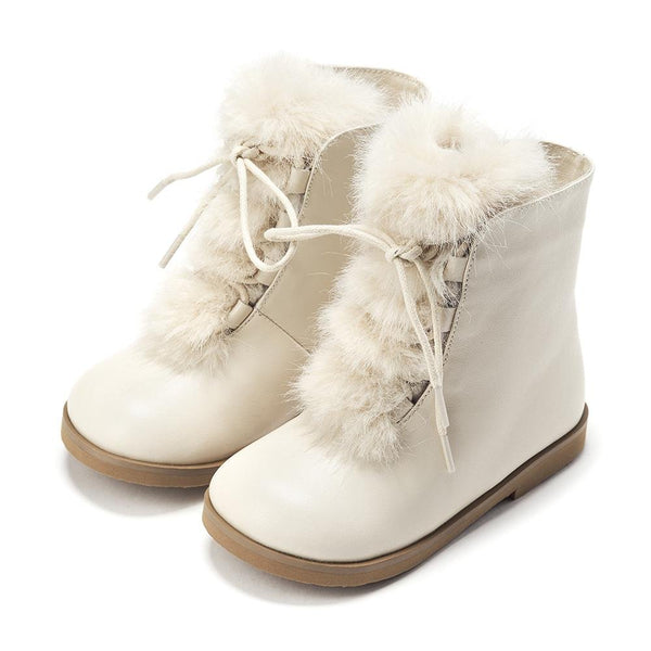 Alice 2.0 Milk Boots by Age of Innocence