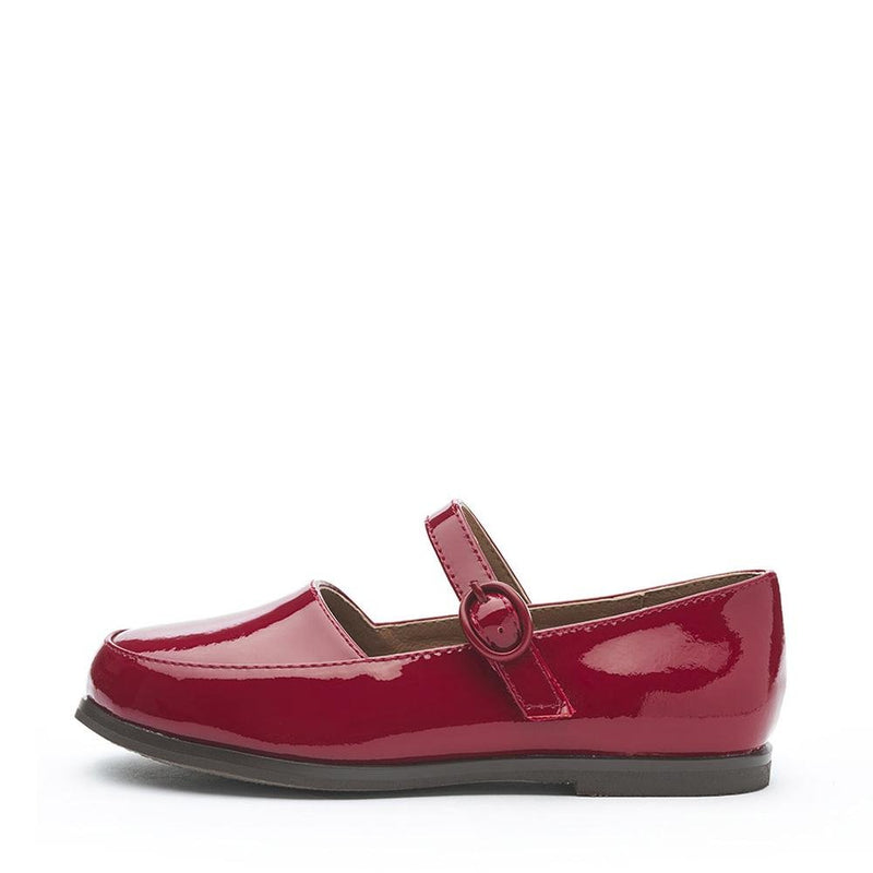 Aria Burgundy Shoes by Age of Innocence