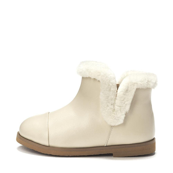 Ashley 2.0 Milk Boots by Age of Innocence