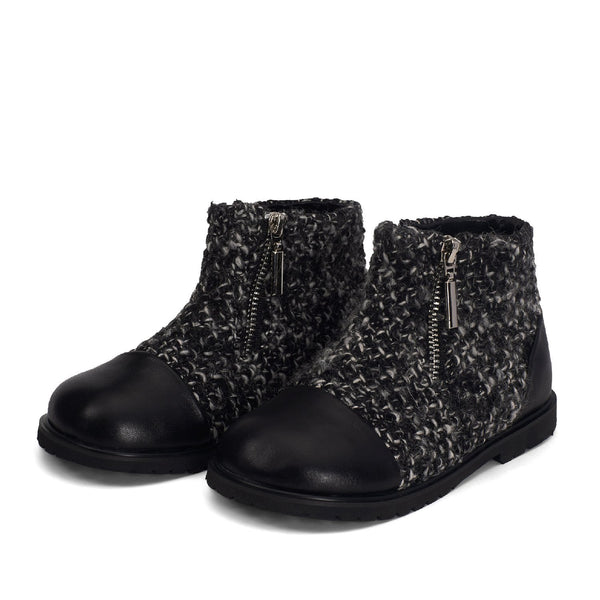 Ava Black Boots by Age of Innocence