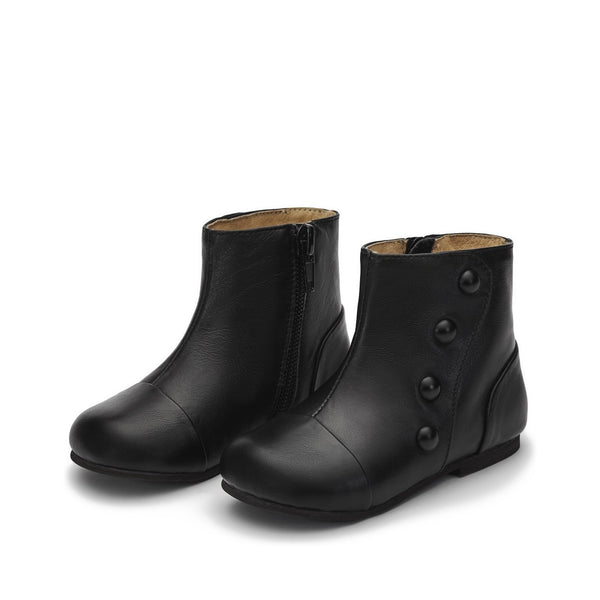 Becky Black Boots by Age of Innocence