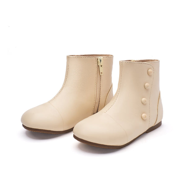 Becky White Boots by Age of Innocence