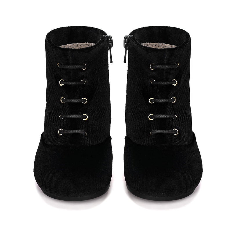 Camilla Black Boots by Age of Innocence