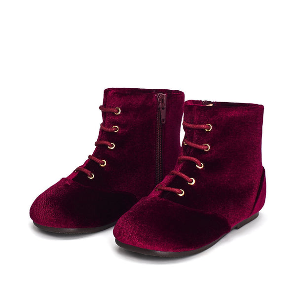 Camilla burgundy Boots by Age of Innocence