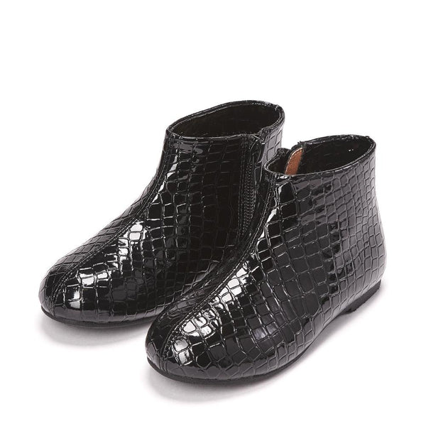 Chiara Black Boots by Age of Innocence