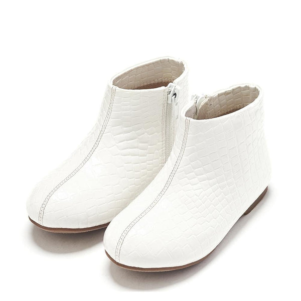 Chiara White Boots by Age of Innocence