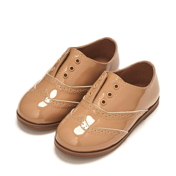Elenor Beige Brogues by Age of Innocence