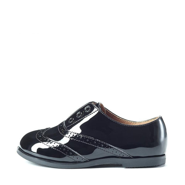 Elenor Black Brogues by Age of Innocence