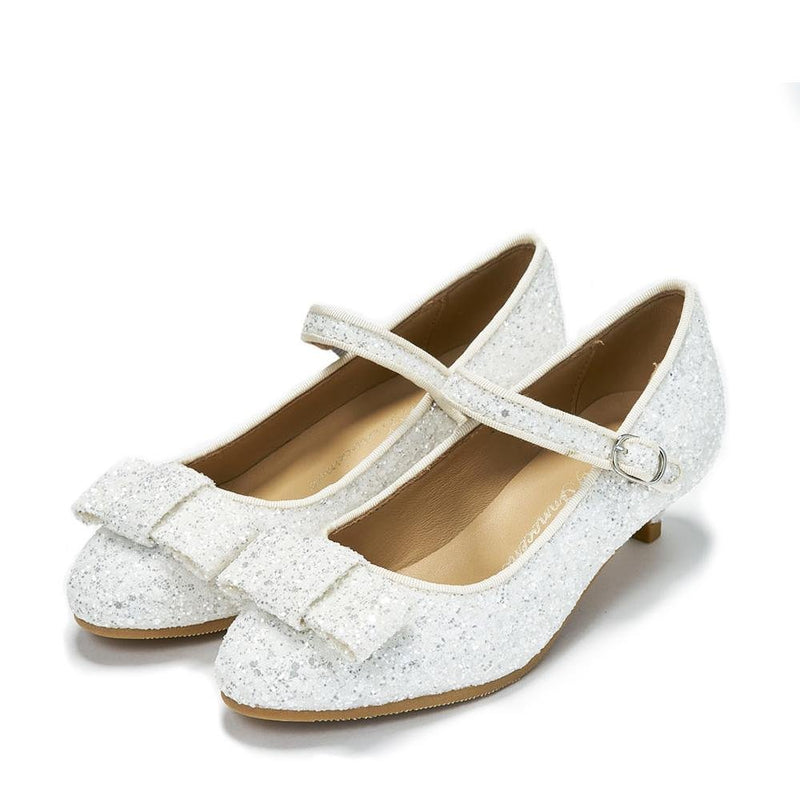 Ellen 2.0 Glitter White Shoes by Age of Innocence