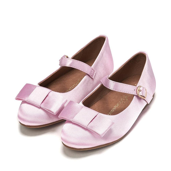 Ellen Satin Pink Shoes by Age of Innocence