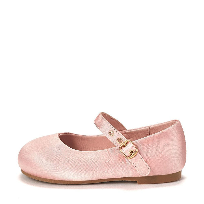 Eva Satin Pink Shoes by Age of Innocence