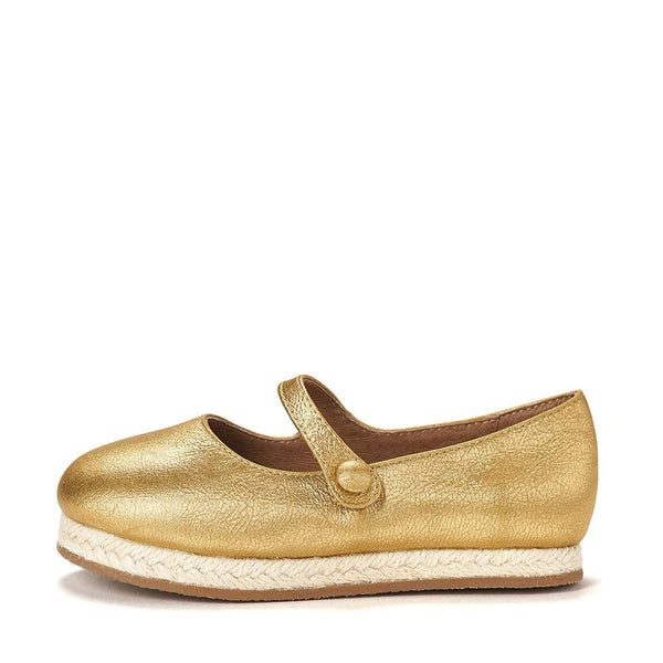 Hailey Gold Shoes by Age of Innocence