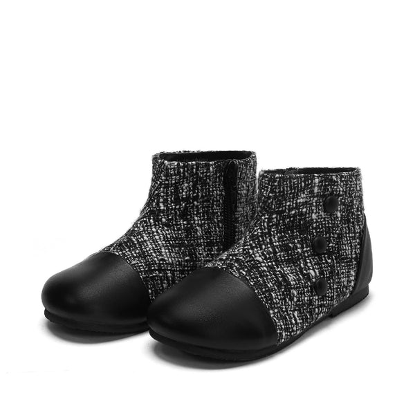Isa Black Boots by Age of Innocence