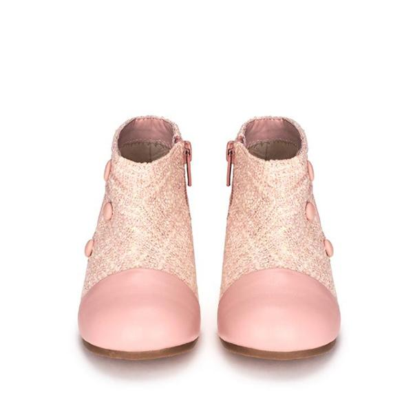 Isa Pink Boots by Age of Innocence