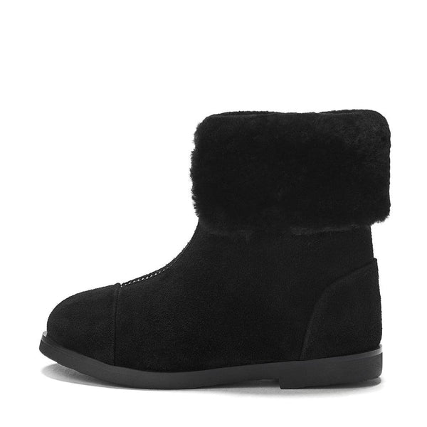 Ivy 2.0 Black Boots by Age of Innocence
