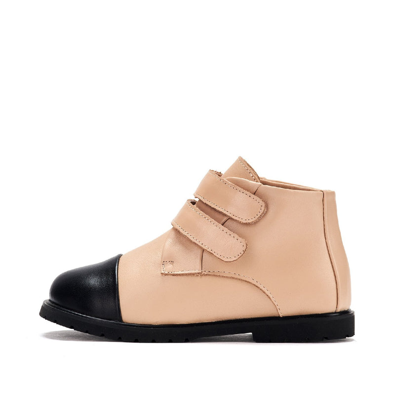 Jane 2.0 Beige Boots by Age of Innocence