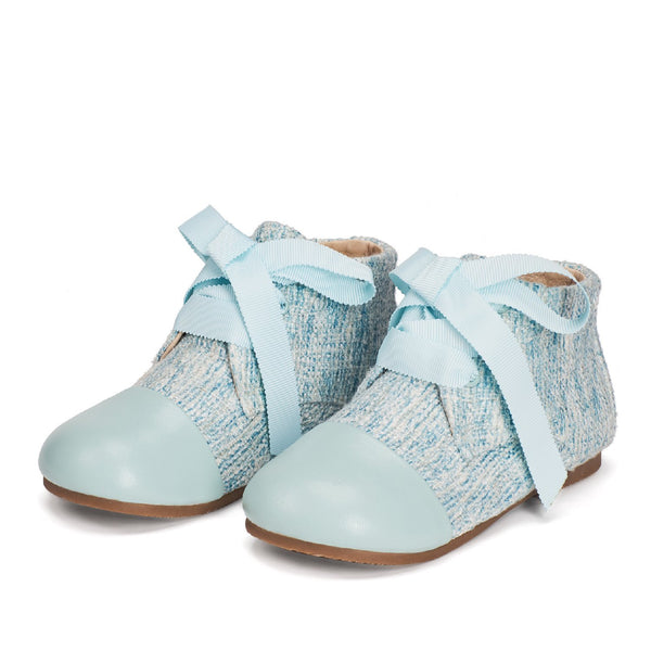Jane 3.0 Blue Boots by Age of Innocence