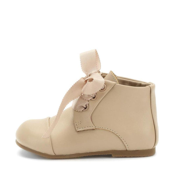 Jane Beige Boots by Age of Innocence