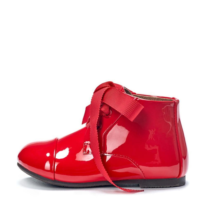 Jane PL Red Boots by Age of Innocence