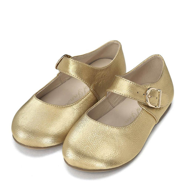 Juni Gold Shoes by Age of Innocence