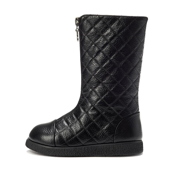 Lily 2.0 High Black Boots by Age of Innocence
