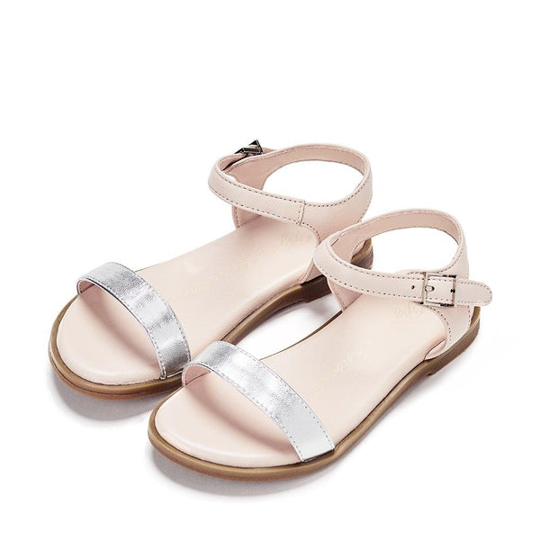 Lina Pink/Silver Sandals by Age of Innocence