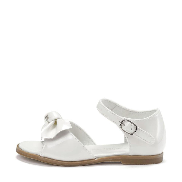 Margo PL White Sandals by Age of Innocence