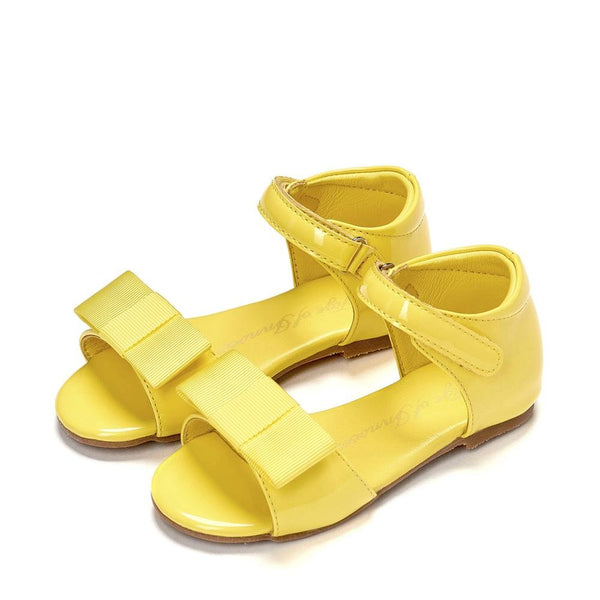 Mary Yellow Sandals by Age of Innocence