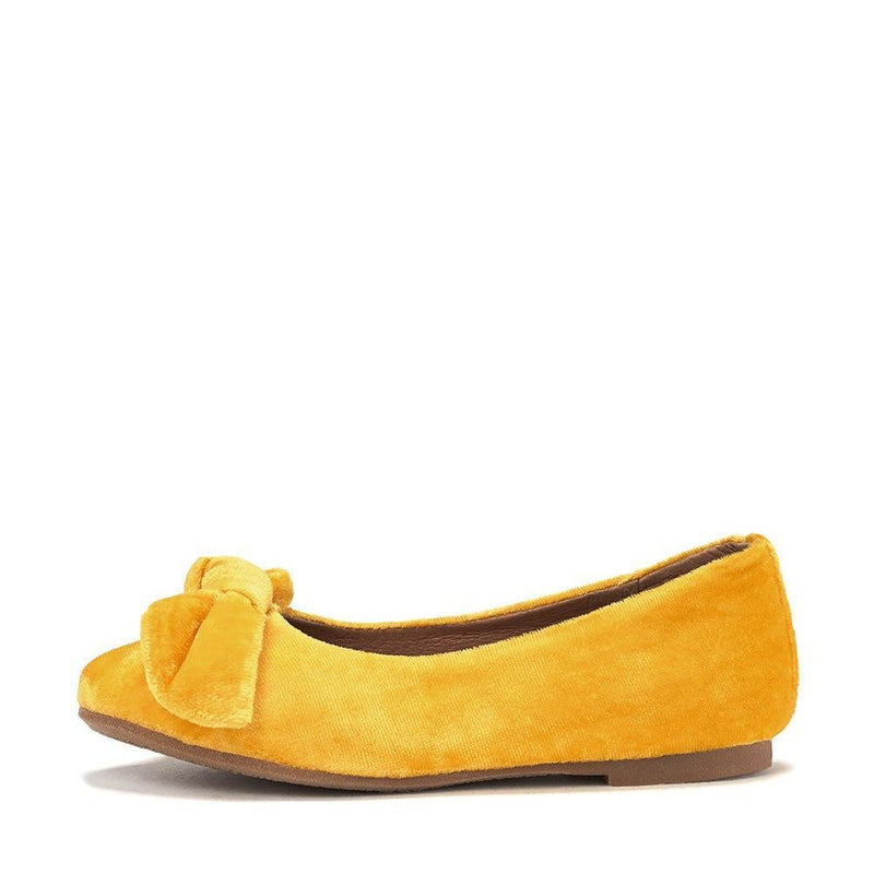 Poppy Yellow Ballerinas by Age of Innocence