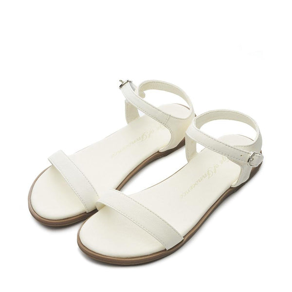 Ricky White Sandals by Age of Innocence