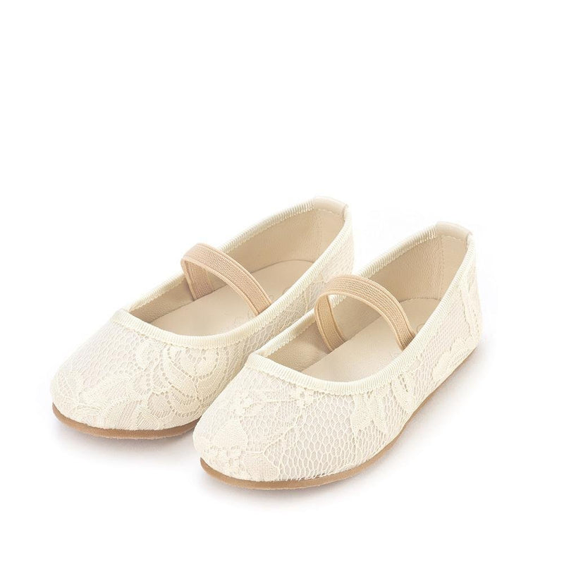 Vera White Shoes by Age of Innocence