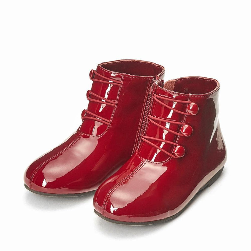 Vivian 3.0 Burgundy Boots by Age of Innocence