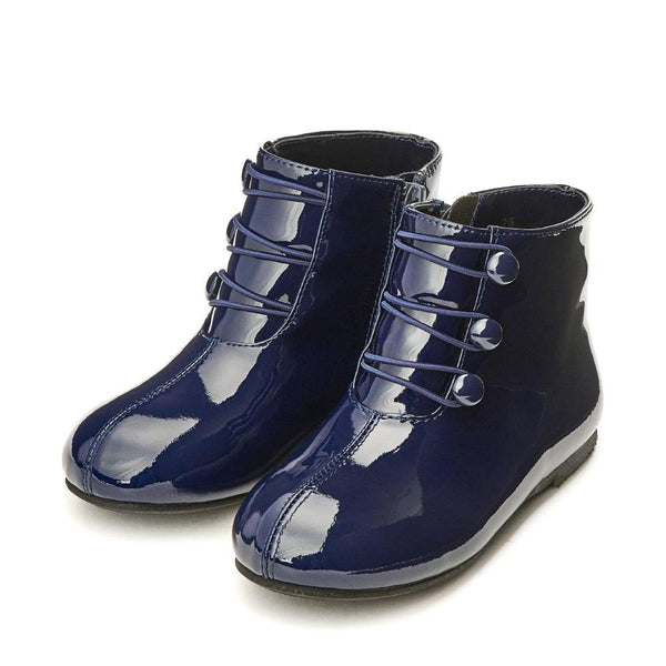 Vivian 3.0 Navy Boots by Age of Innocence