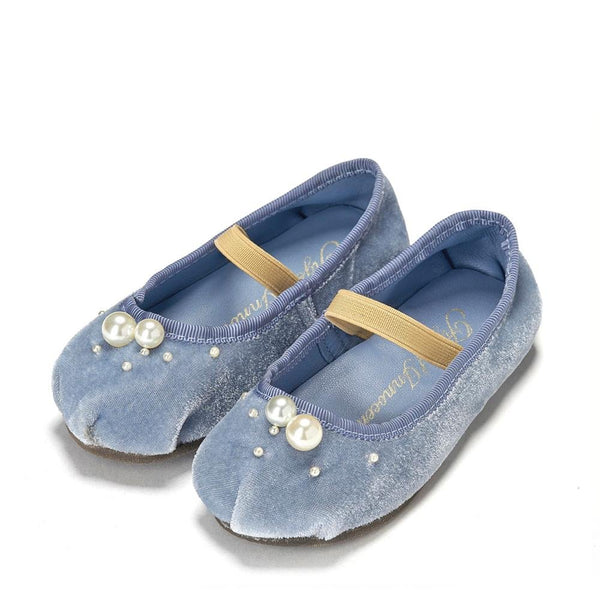 Zelda Blue Shoes by Age of Innocence
