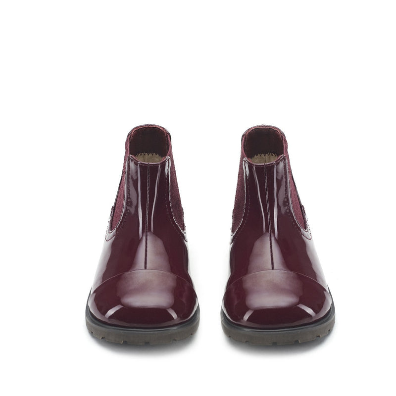 Julia Burgundy Boots by Age of Innocence