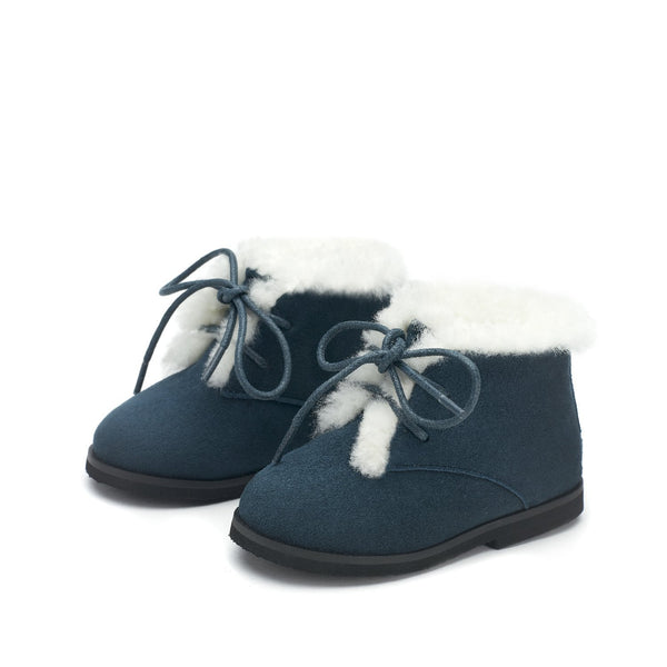 Lora Blue Boots by Age of Innocence