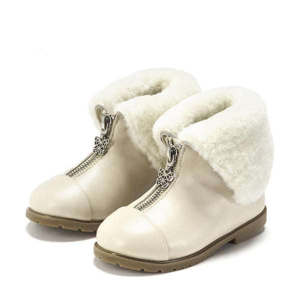 Lucia Milk Boots by Age of Innocence
