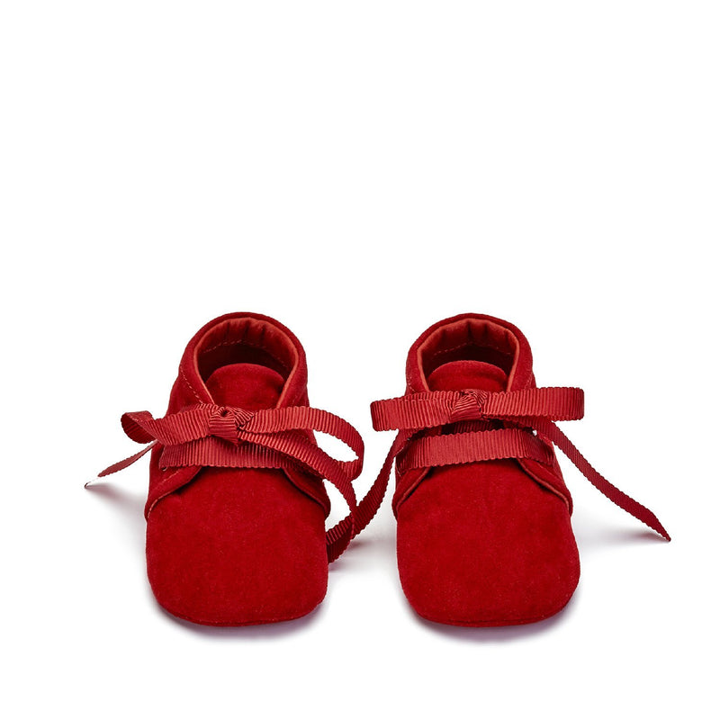 MiniMe Red Pre Walkers by Age of Innocence