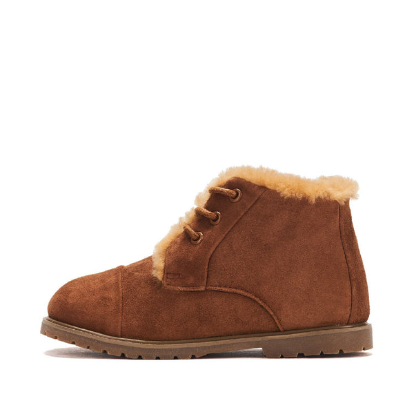 Zoey Camel Boots by Age of Innocence