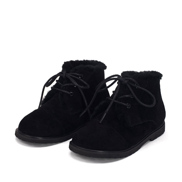 Zoey Black Boots by Age of Innocence