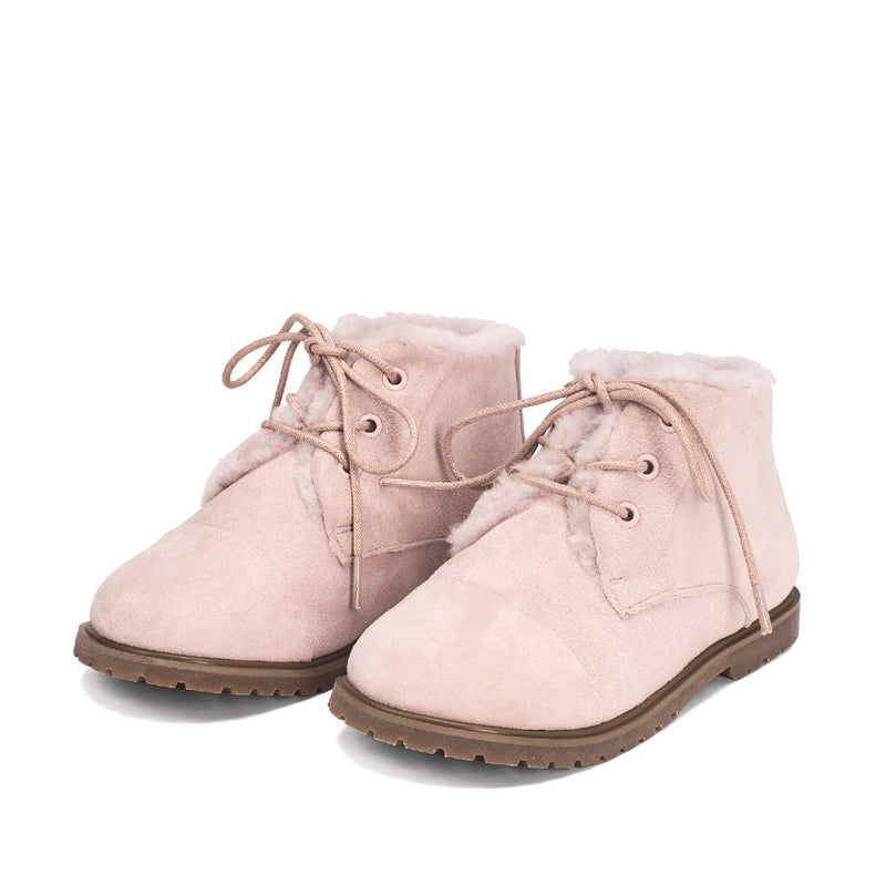 Zoey Pink Boots by Age of Innocence
