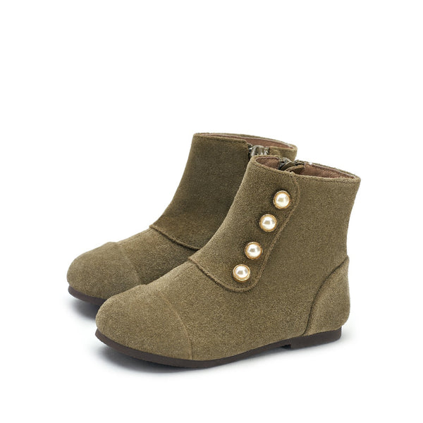 Natalie Olive Boots by Age of Innocence