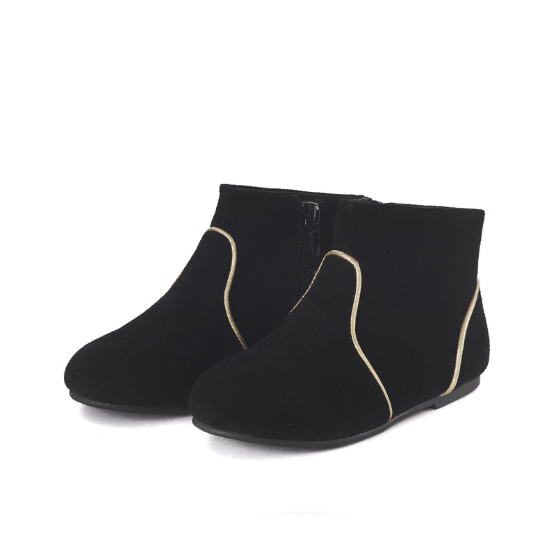 Carla Black Boots by Age of Innocence