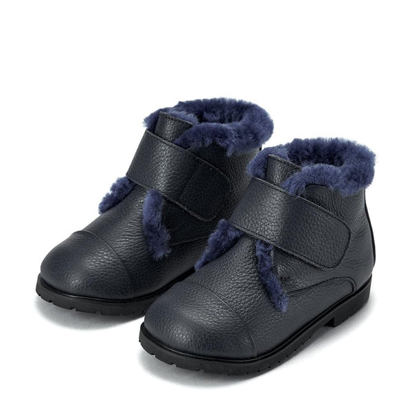 Zoey 3.0 Navy Boots by Age of Innocence