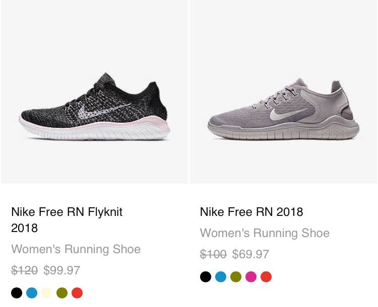 Hot Deals: Promo Codes : Nike extra 25 off