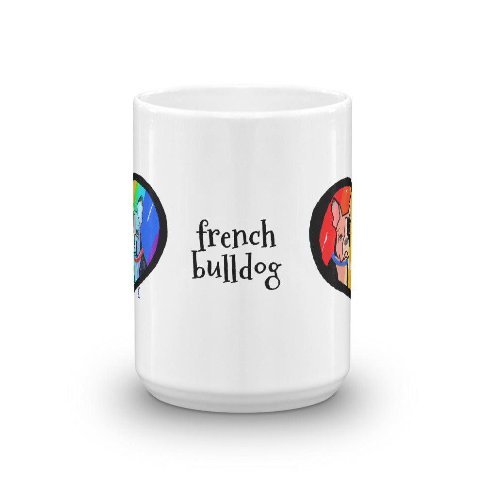 Twin French Bulldog Coffee Mug - pickie shop