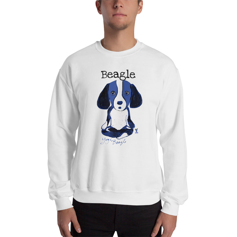 Yogi Beagle Sweatshirt I White / Grey - pickie shop