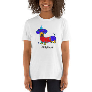 Dachshund T-Shirt I White / Grey - pickie shop